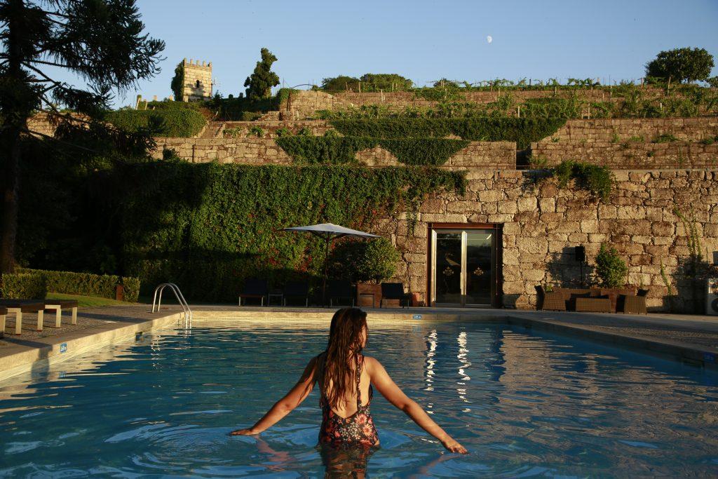 Hotel Casa da Calçada, piscina
