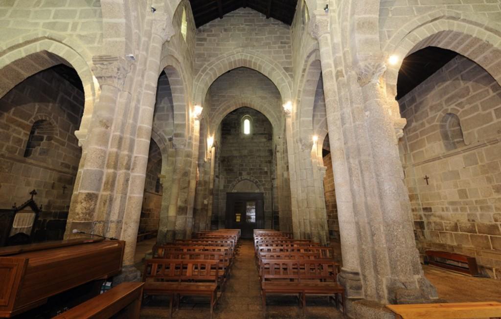 Transepto do Mosteiro de S. Salvador de Travanca