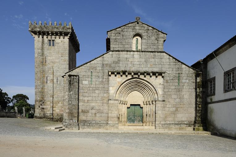 Mosteiro de S. Salvador de Travanca, exterior