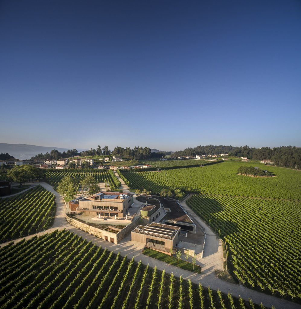 Monverde - Wine Experience Hotel, vosta aérea