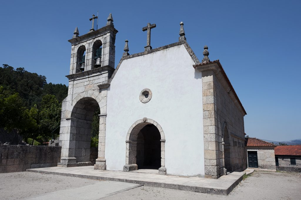 Igreja de São João Batista de Gatão, exterior