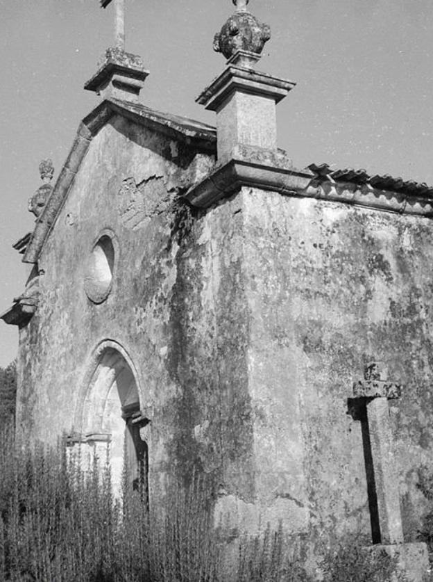 Imagem antiga da Igreja do Salvador de Real