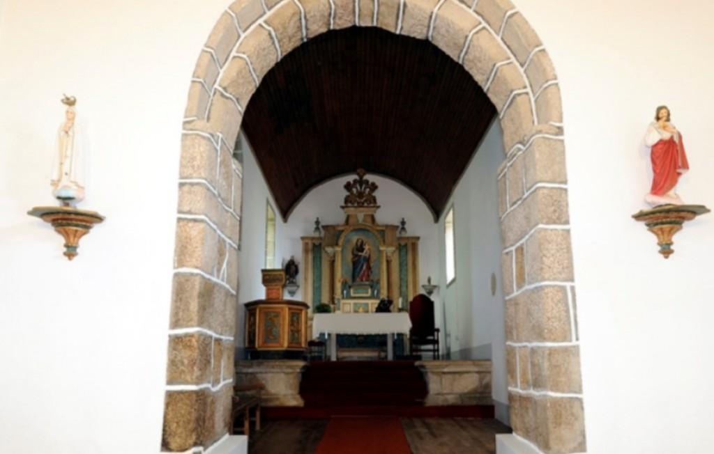 Capela-mor, Igreja do Salvador de Real