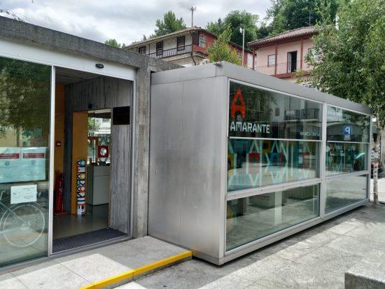 Loja Interativa de Turismo, entrada