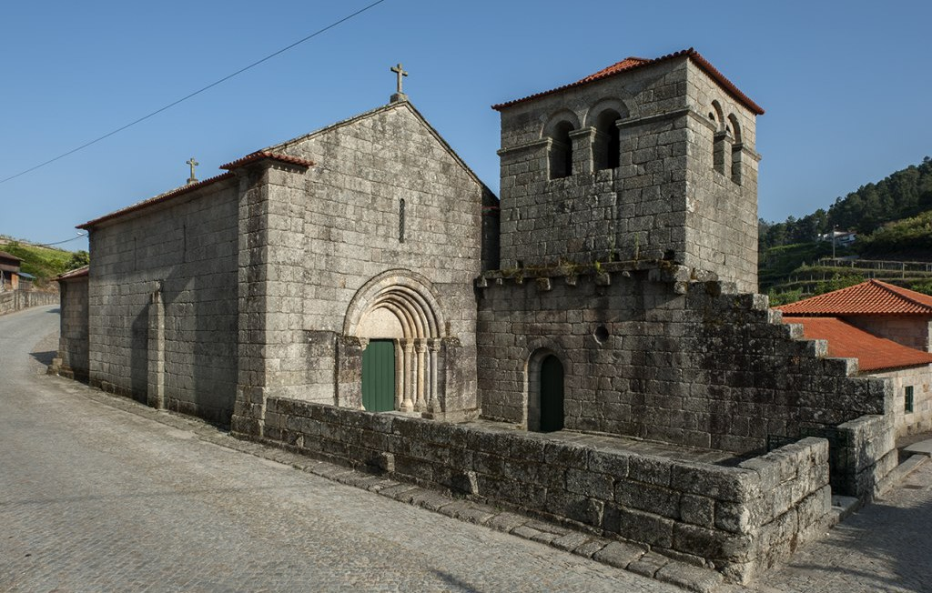 Exterior Mosteiro do Salvador de Freixo de Baixo