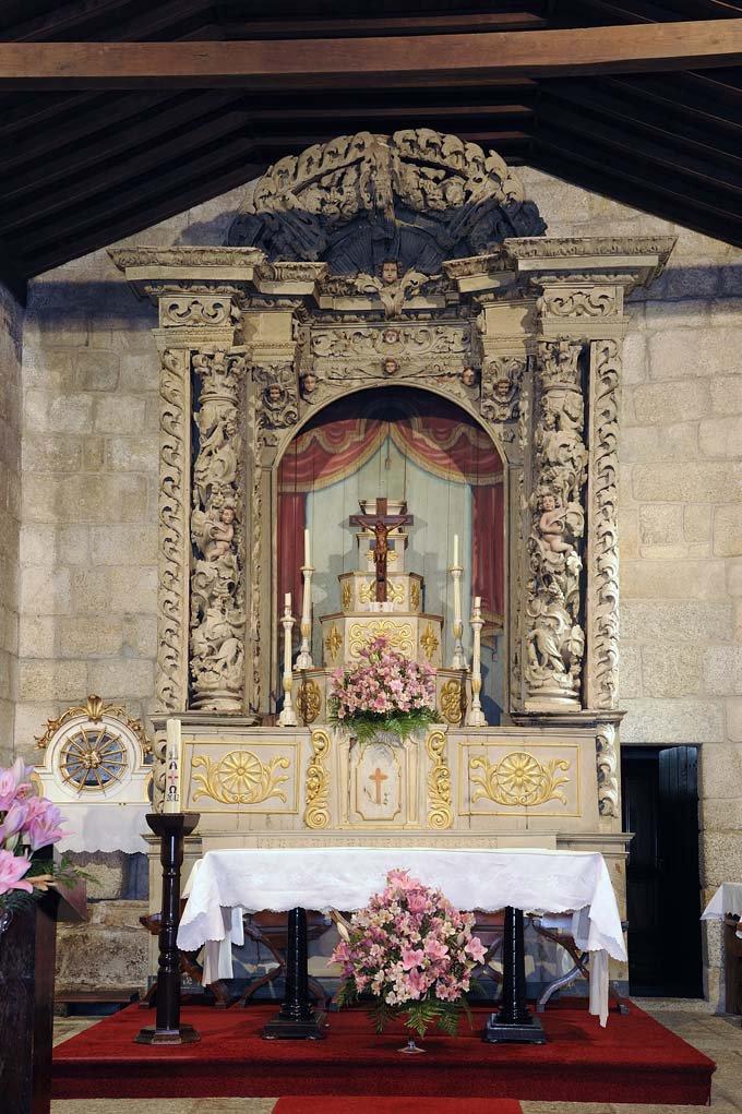 Altar-mor do Mosteiro do Salvador de Freixo de Baixo