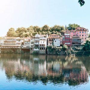Varandas sobre o Rio Tâmega