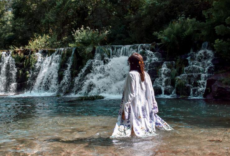 Mergulhar em rios transparentes